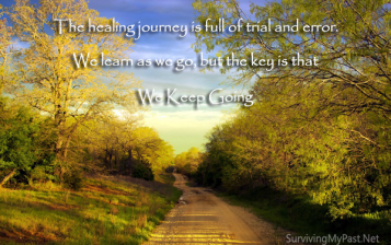 keep going on your healing journey from abuse