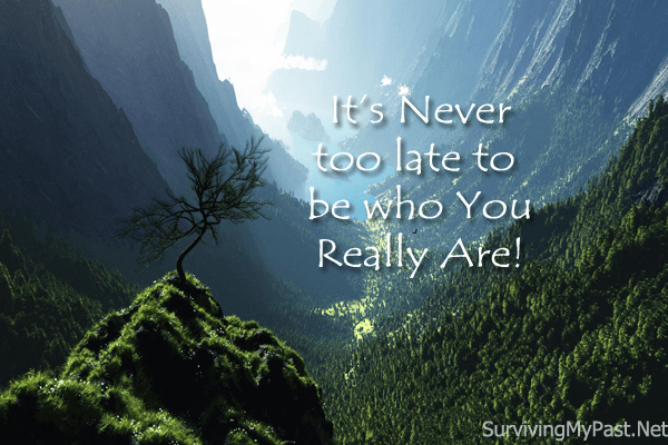 Be who you truly are!