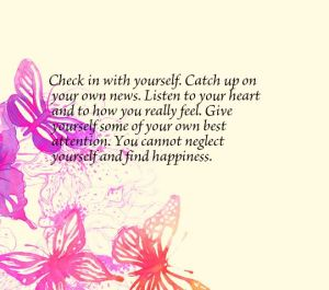 check in with yourself - found on pinterest
