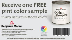 benjamin moore coupons free pint of arborcoat stain or paint on benjamin moore coupon id=59365