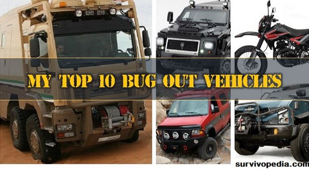 top bug out vehicle