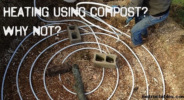 heating with compost