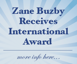 Zane Buzby receives International Award