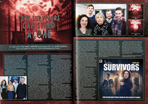 Starburst #438 - Big Finish - Survivors - series six - preview