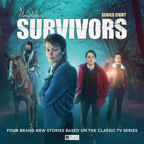 Big Finish - Survivors - series eight - cover art