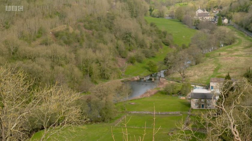 Countryfile - White Peak - May 2021 - A view across the Monsal valley