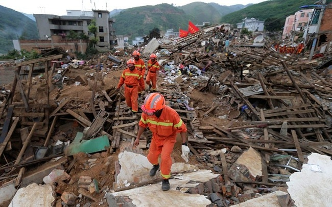 चीनमा भूकम्पका कारण मृत्यु हुनेको संख्या १९ पुग्यो, ४ सय भन्दा बढी घाईते