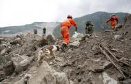 चीनमा पहिरोमा परी आठको मृत्यु, सत्रजना बेपत्ता
