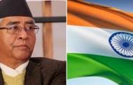 प्रधानमन्त्री शेरबहादुर देउवाको भारत भ्रमण भदौ ७ देखि ११ गतेसम्म