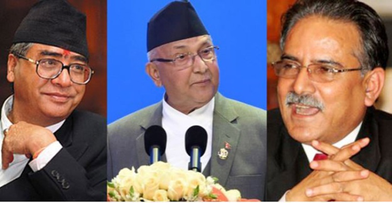 ओली, देउवा र दाहाललाई भारतीय प्रधानमन्त्रीको फोन, चीन शशंकित
