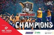 एनआईसी एभरेष्ट प्रिमियर लिग टी–२०को बिजेता