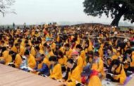 कोरियाली बौद्धमार्गीद्वारा विश्व शान्तिको सामूहिक प्रार्थना