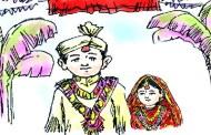 बाल विवाह गर्ने जोडीलाई रुँदारुँदै बिछोड गरायो रोल्पा प्रहरीले