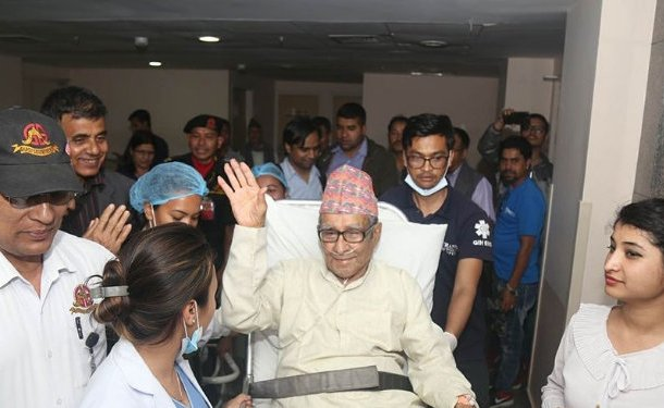 Rastrakavi Ghimire sees improvements in health