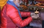 भारतीय प्रधानमन्त्री मोदी मुक्तिनाथमा पूजा फर्किए काठमाण्डौ