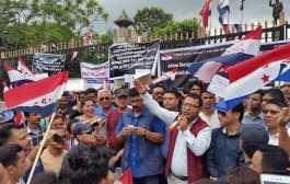 नेपाल तरुण दलको आयोजनामा सम्पन्न बिरोध कार्यक्रम (तस्विरहरु)