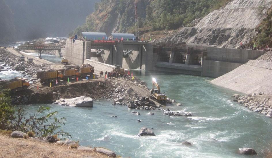 त्रिशूली र देवीघाट जलविद्युत् केन्द्रको उत्पादन बन्द