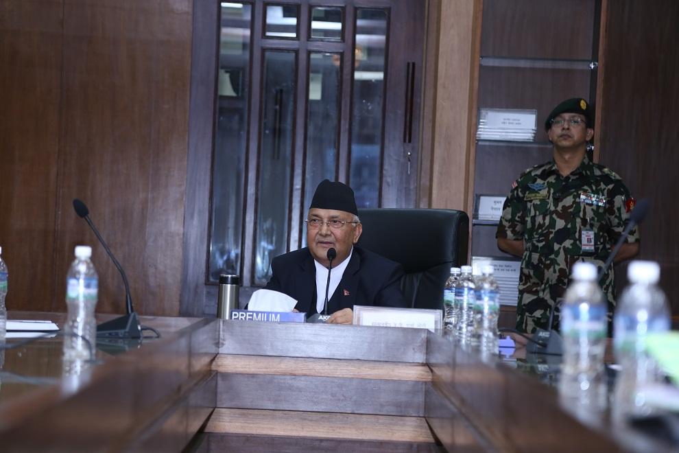 काँग्रेसलाई संकेत गर्दै प्रधानमन्त्री भन्छन्, 'एक दुईजना साँसद उभिएकै भरमा संसद अवरुद्ध हुदैन'