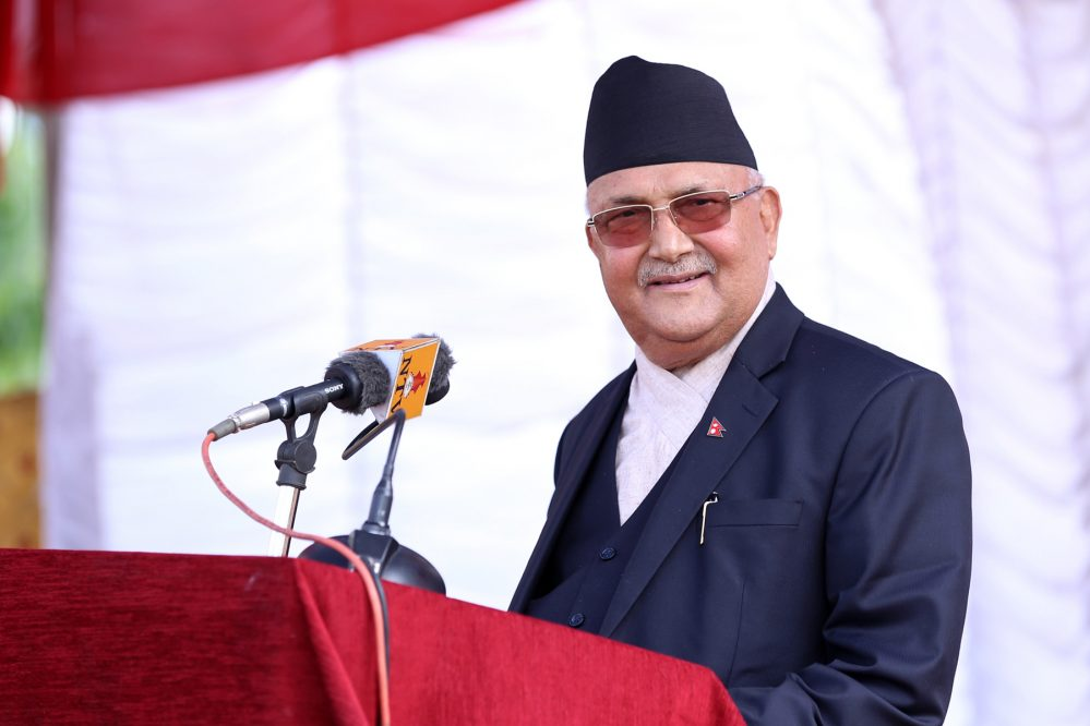 Govt ready to work with NRNA for country's prosperity: PM Oli