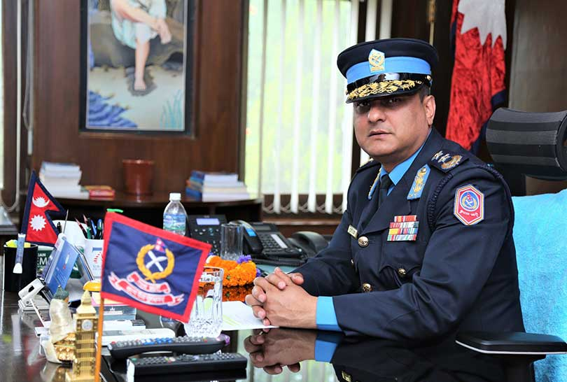 Activities hurting organization's dignity intolerable-IGP Khanal