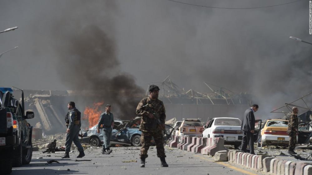 काबुलमा आत्मघाती आक्रमण, केही घाइते