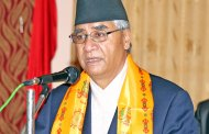 Only Nepali Congress is the democratic socialist party: Party president Deuba