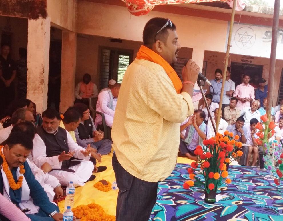 प्रधानमन्त्री ओलीले नसोचेको सडक आन्दोलनबाट संबिधान संसोधन गराउछौं : राजपा