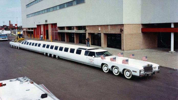 विश्वकै सबैभन्दा लामो कार 'द अमेरिकन ड्रिम'