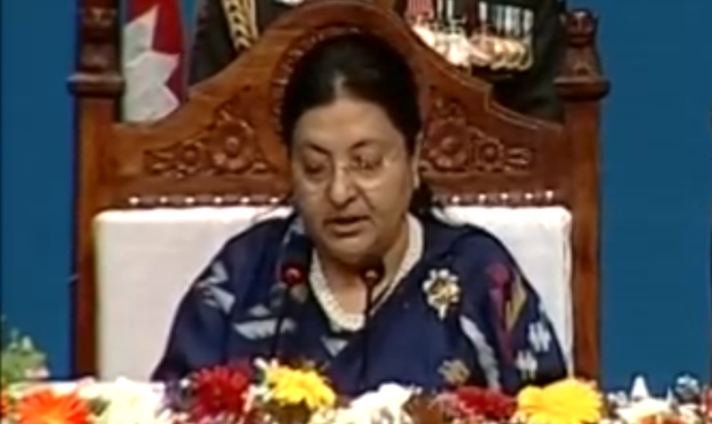 President Bhandari observes Model Agriculture Project in Jhapa