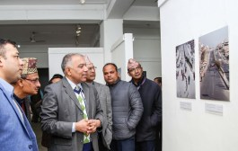 भूकम्पसम्बन्धी फोटो प्रदर्शनी