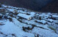 बाजुरामा हिमपात, अत्याधीक चिसोका कारण स्थानीय बजार बन्द