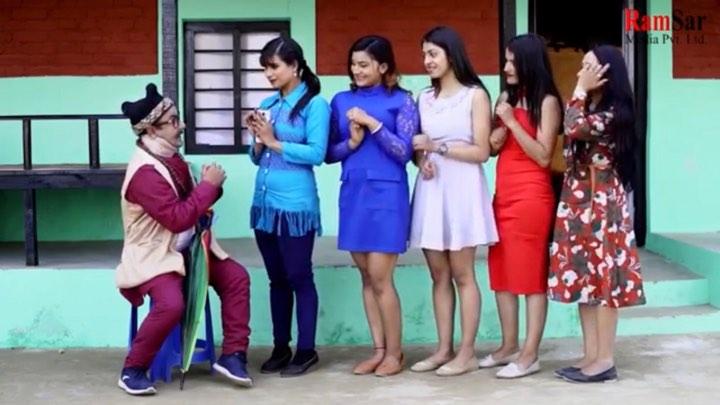 दर्शकहरुको मन मुटुमा बस्न सफल चर्चित हास्य टेलीचलचित्र 'झट्का'