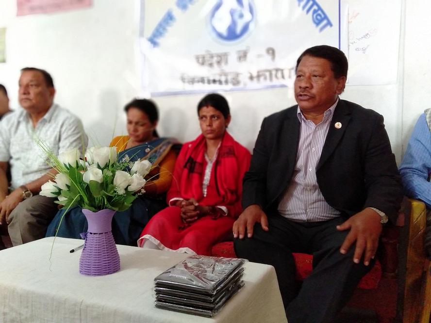 विप्लव समूहलाई वार्तामा ल्याउनेसमेत औकात ओली सरकारसँग भएनः नेता सिंह