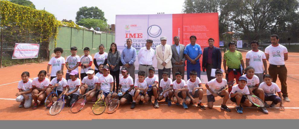 आइएमई जेटीआई टेनिस टुर्नामेन्ट शुरु