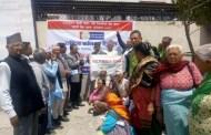 रावा बैकद्धारा मिनभवनमा जेष्ठ नागरिकको खाता खोल्ने कार्यक्रम संचाल