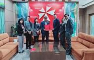 एनआई सी एशिया बैंक र ब्लुक्रस हस्पिटल बीच सम्झौता