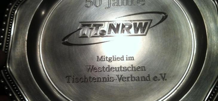 50 Jahre Mitglied im WTTV
