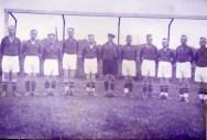 SuS 1932 Heinrich Deitel, ???, Theodor Busemann, Heinrich Panschac, Willi Novak, Willi Hagedorn, ???, ???, Fritz Krämer, Heina Foschepoth, Josef Nunnemann.