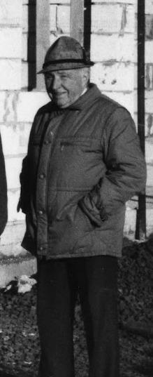 Franz (Fente) Westerhoff Kassierer von 1933-1971 2. Kassierer von 1929-1933 Ballwart bis 1981