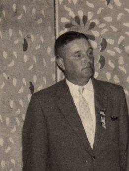 Franz Sauer 2. Vorsitzender von 1955-1960
