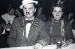 Karneval V.l. Willi Vickermann, Hildegard Vickermann