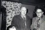 Karneval v.l. Fritz Westhaus, Budden Fritz