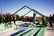 Dachsparren aufstellen