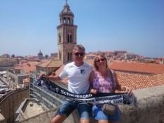 Annette und Martin Horstmann in Dubrovnik am 19.10.2017