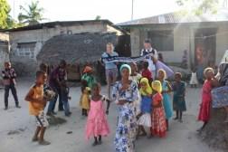 Christin Magh und Michel Berz in Kiwengwa auf Sansibar am 07.09.2017