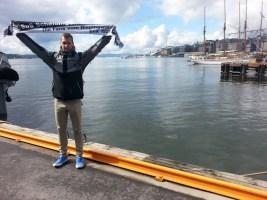 Florian Volmer im Hafen von Oslo 01.05.16