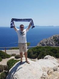 Gerd Naake auf Mallorca Cap Formentor 29.07.2017