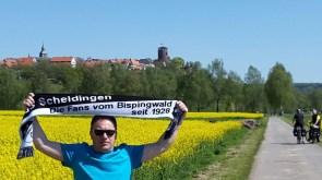 Gerd Naake vor der Trendelburg in Trendelburg 07.05.16