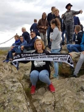 Ida Hennemann in Bruchhausen an den Steinen am 12.07.2016