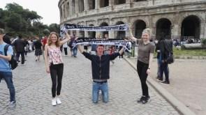 Johanna Degenhardt, Jan Berz und Manjana Hoffmeier in Rom 12.06.2016